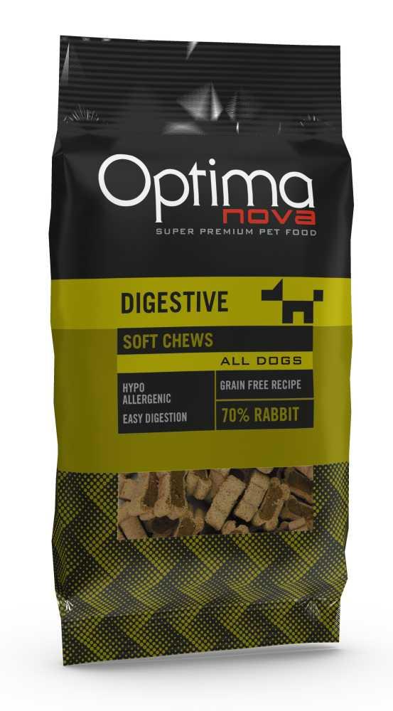 OPTIMAnova FUNCTIONAL snack DIGESTIVE Rabbit 150g-14563