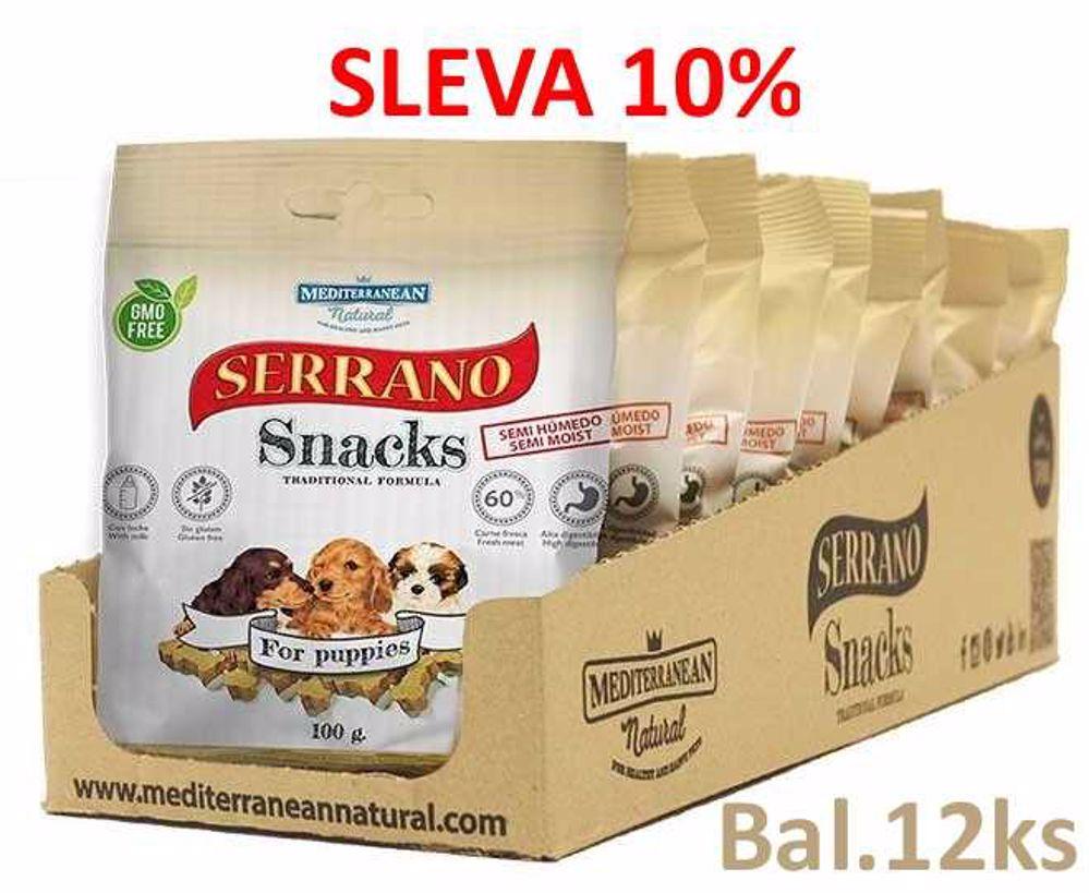 Serrano Snack for Puppies 100g-12ks-AKCE 10%-14578