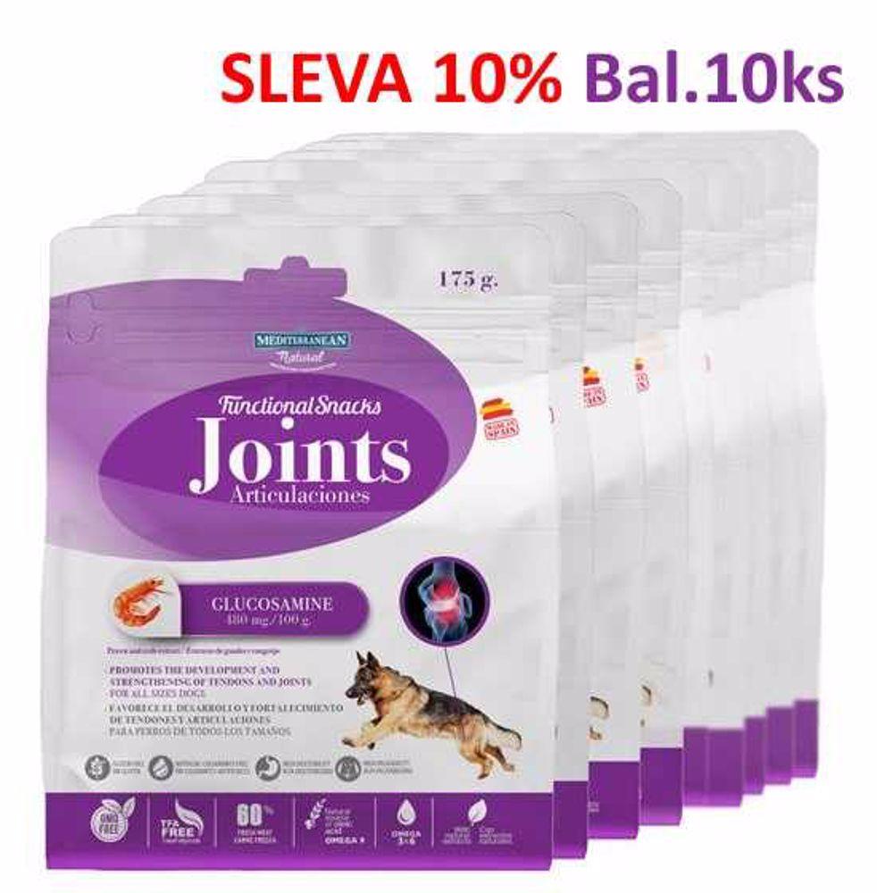 JOINTS for Dog 175g Funkční pamlsek-Klouby-10ks-AKCE 10%-14583