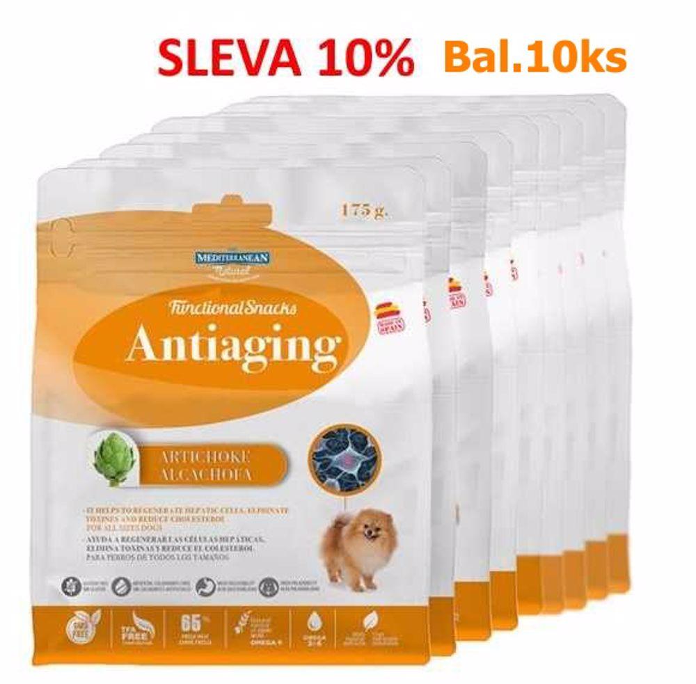 ANTIAGING for Dog 175g Funkční pamlsek-Proti stárnutí-10ks-AKCE 10%-14584