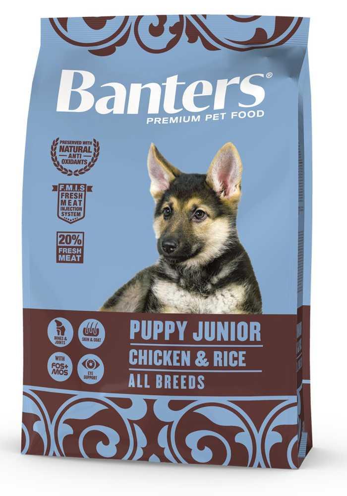 Banters Puppy Junior Chicken & Rice 3 kg