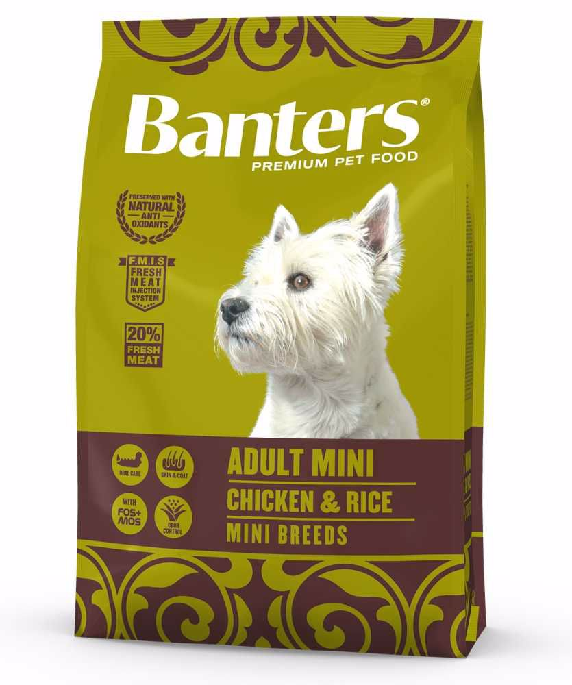 Banters Adult Mini Chicken & Rice 3 kg
