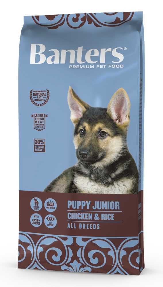 Banters Puppy Junior Chicken & Rice 15 kg