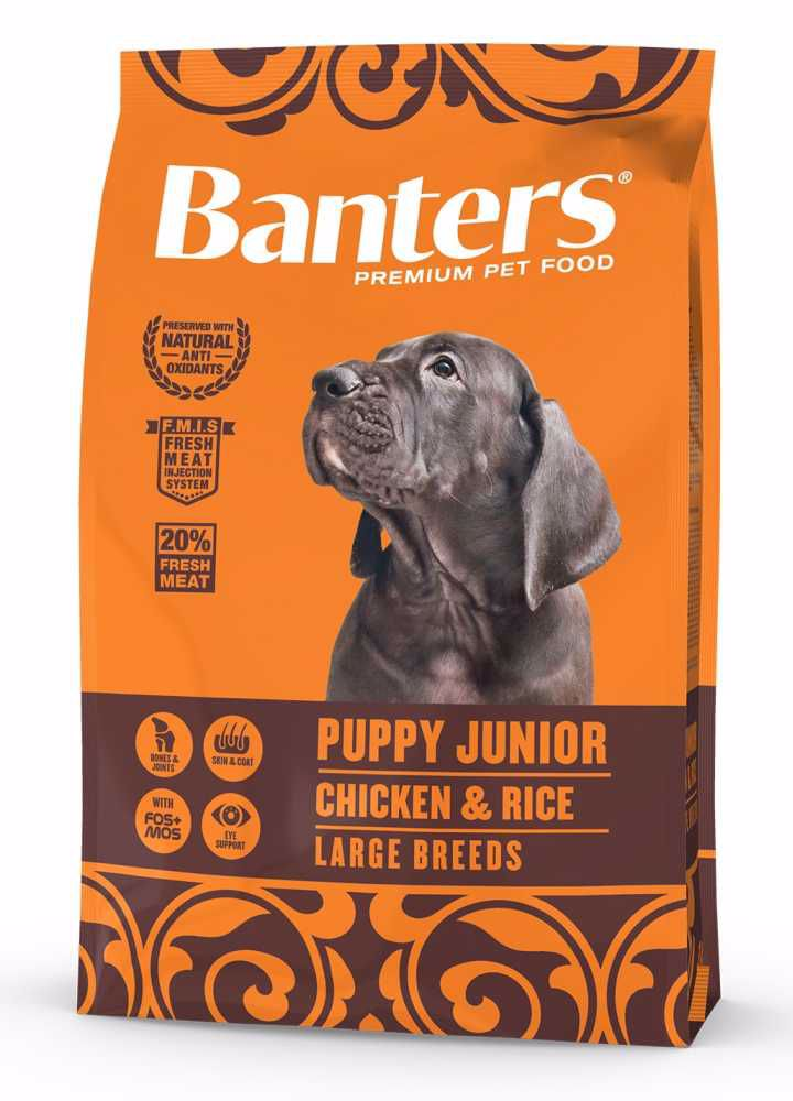 Banters Puppy junior LARGE BREEDS  3kg-14654
