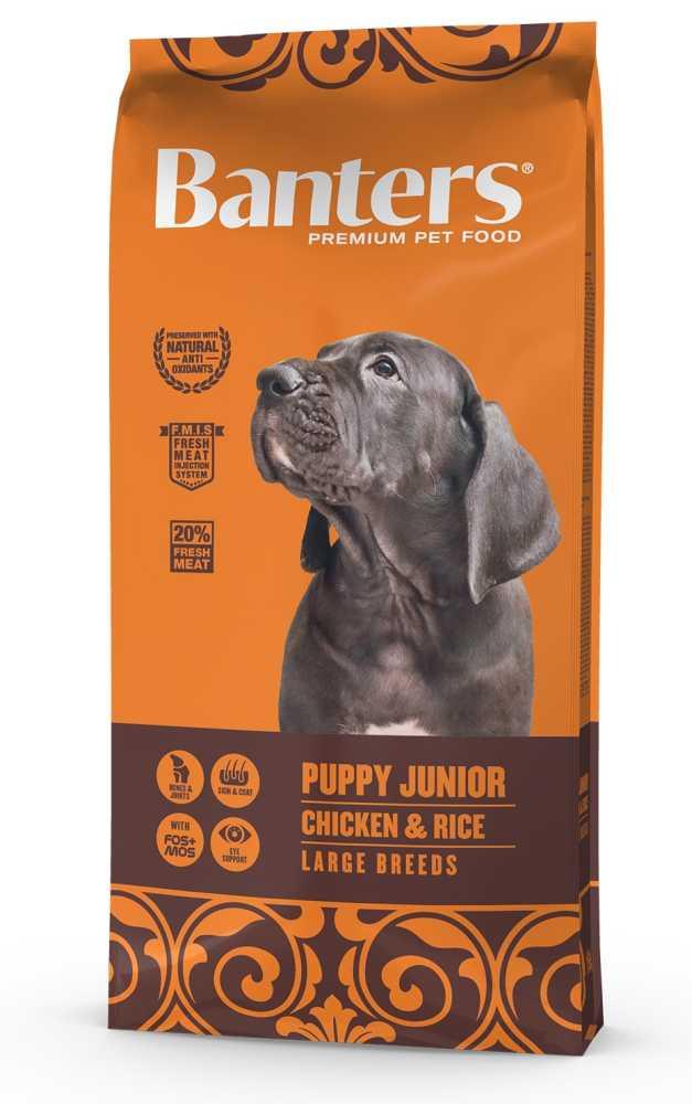 Banters Puppy Junior Large Breeds 15 kg