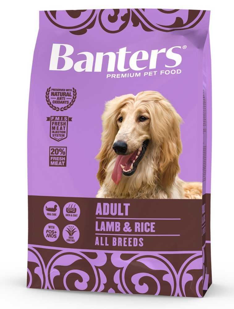 Banters Adult Lamb & Rice 3 kg