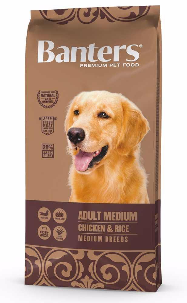 Banters Adult Medium Chicken & Rice 15 kg
