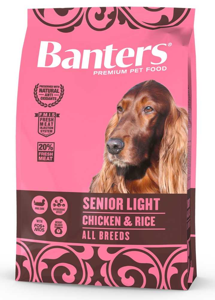 Banters Senior Light Chicken&Rice  3kg-14661