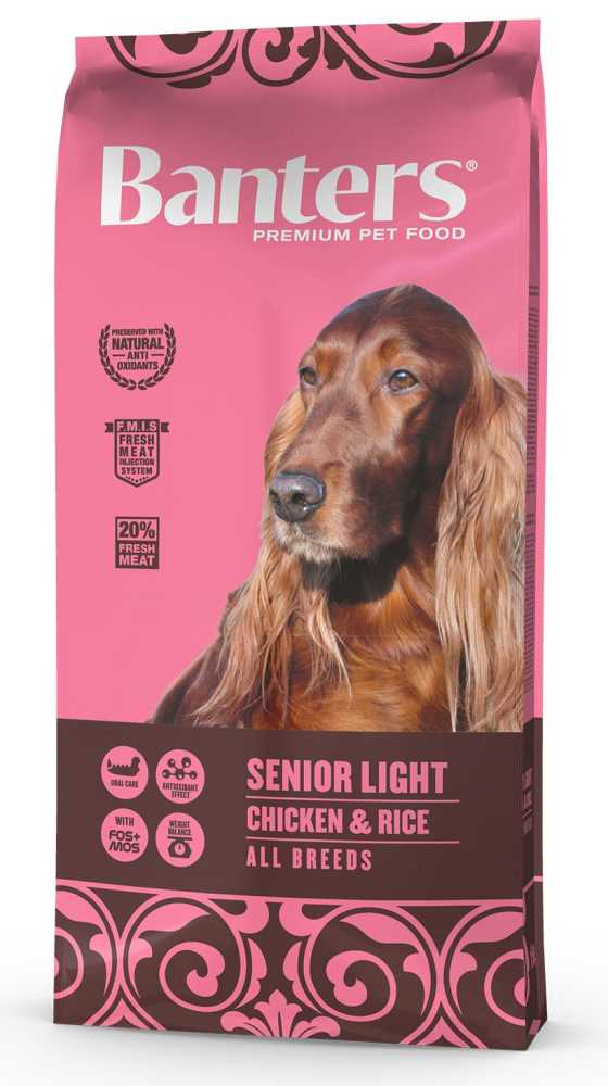 Banters Senior Light Chicken&Rice 15kg-14662