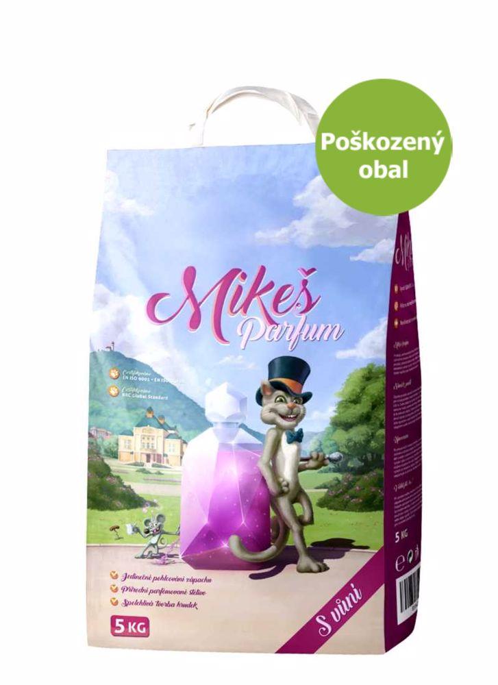 Mikeš Parfum hrudkující s vůní 5 kg - SLEVA 15 % (poškozený obal)