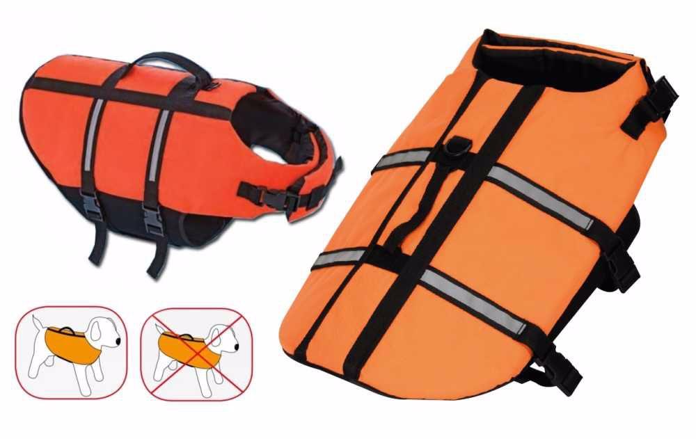 Záchranná/plovací vesta pro psy-XL-45cm-0093C