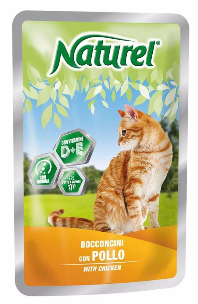 Naturel cat pouches CHCKEN 100g-033041