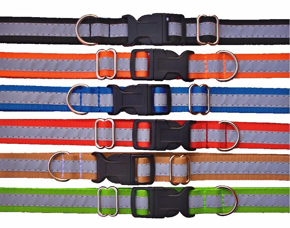 Obojek Popruh-20x32-55-barevný-REFLEXNÍ-16155
