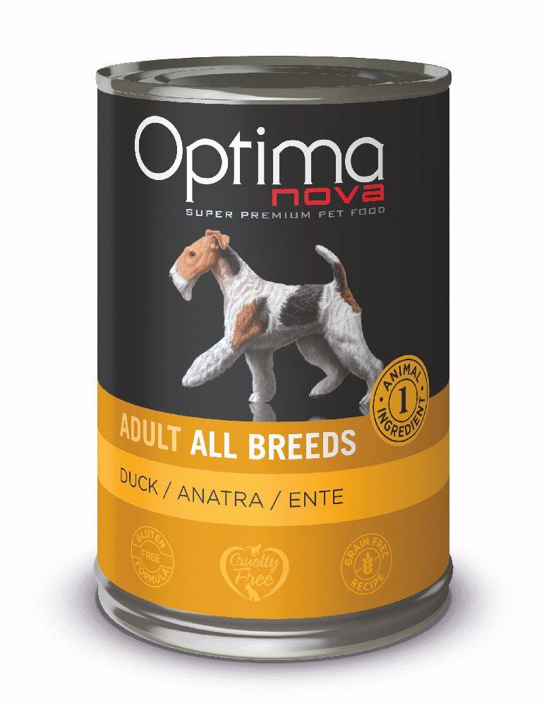 Optimanova Dog Duck Grain Free 400g