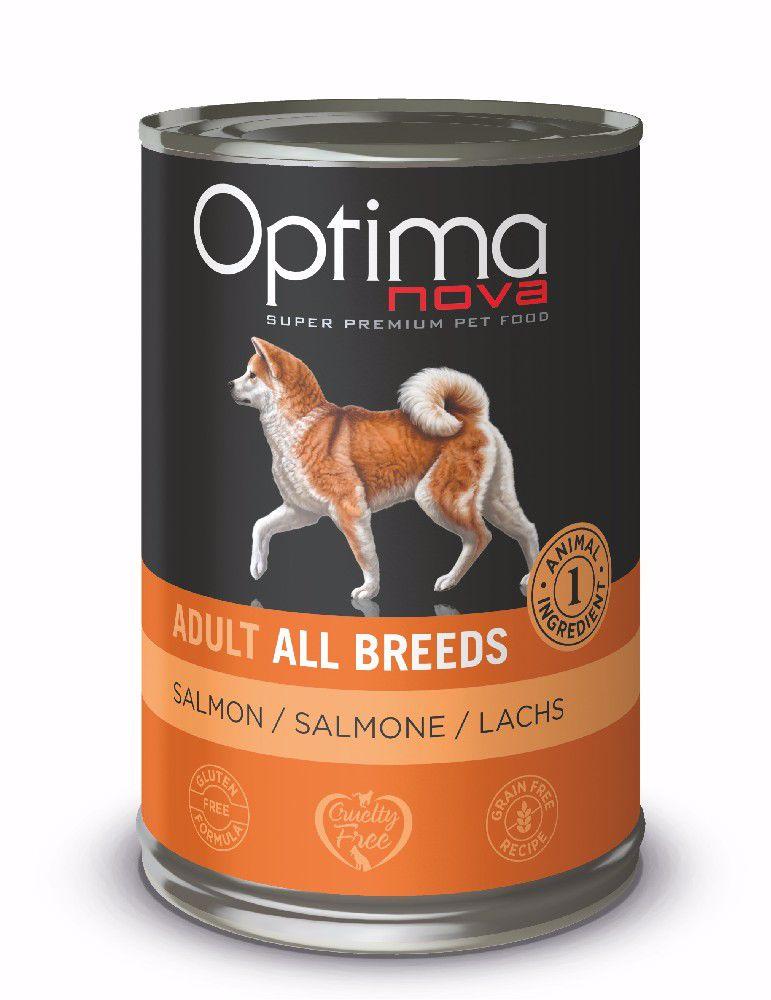 Optimanova Dog Salmon Grain Free 400g