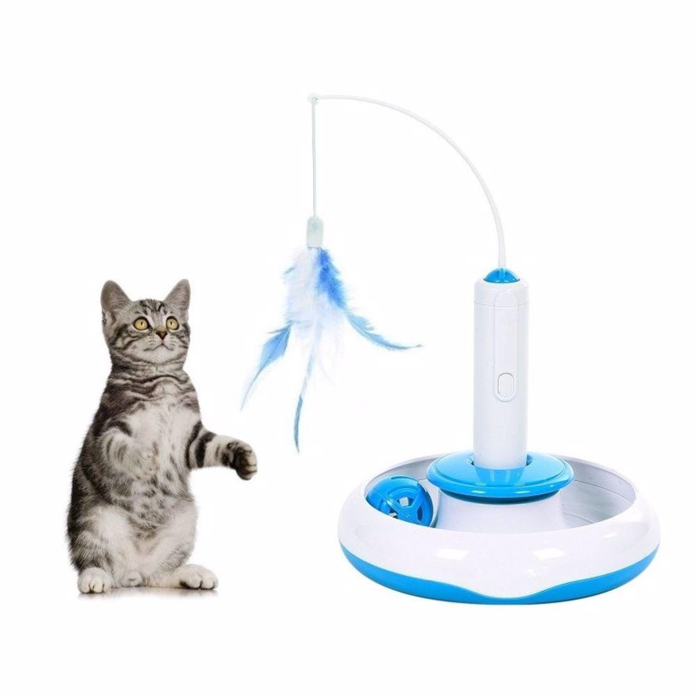 Interaktivní hračka 3v1 pro kočku-udice-14971