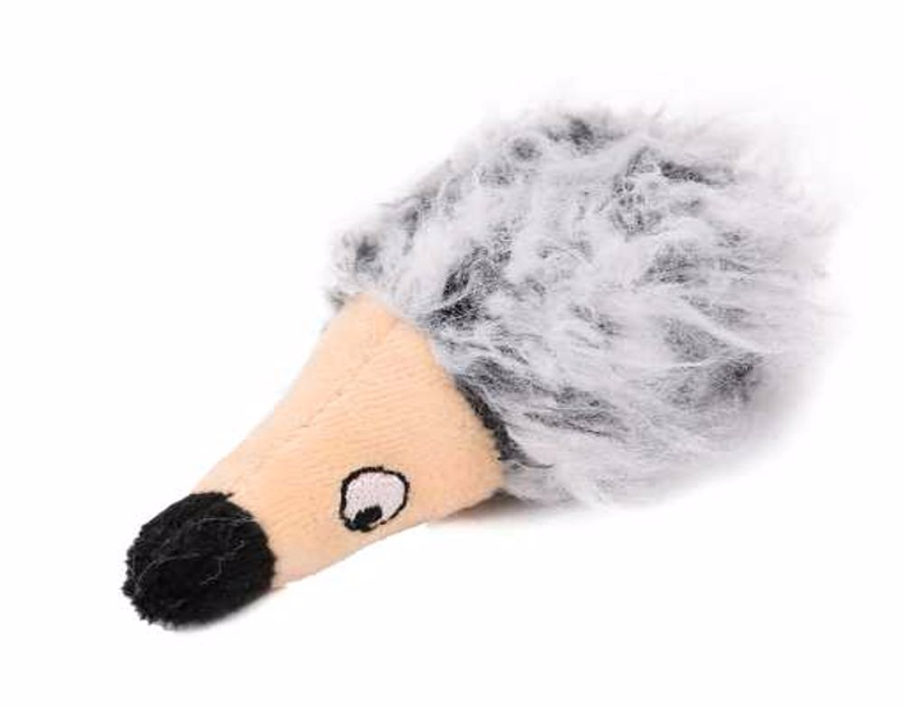 Plyš ježek s šantou 10cm-Hračka pro kočku-14989