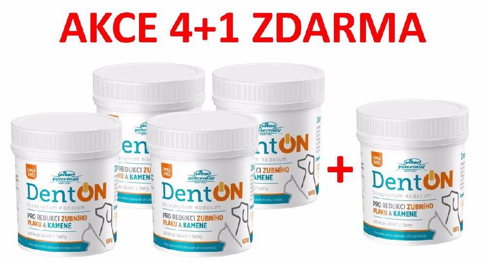 Vitar veterinae DentON (De-Plague) 100g-redukce zubního kamene-AKCE 4+1 Zdarma-15029