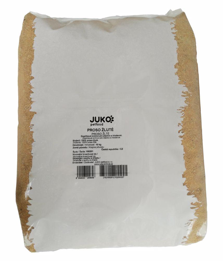 Proso žluté JUKO 10 kg