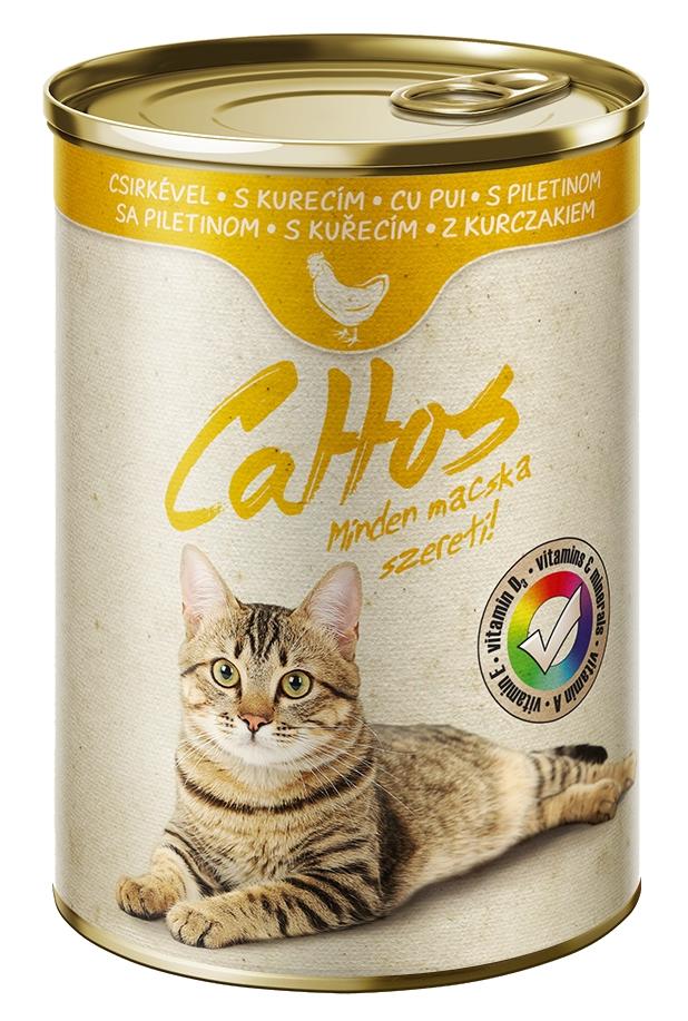 Cattos Cat with Chicken 415g-15379