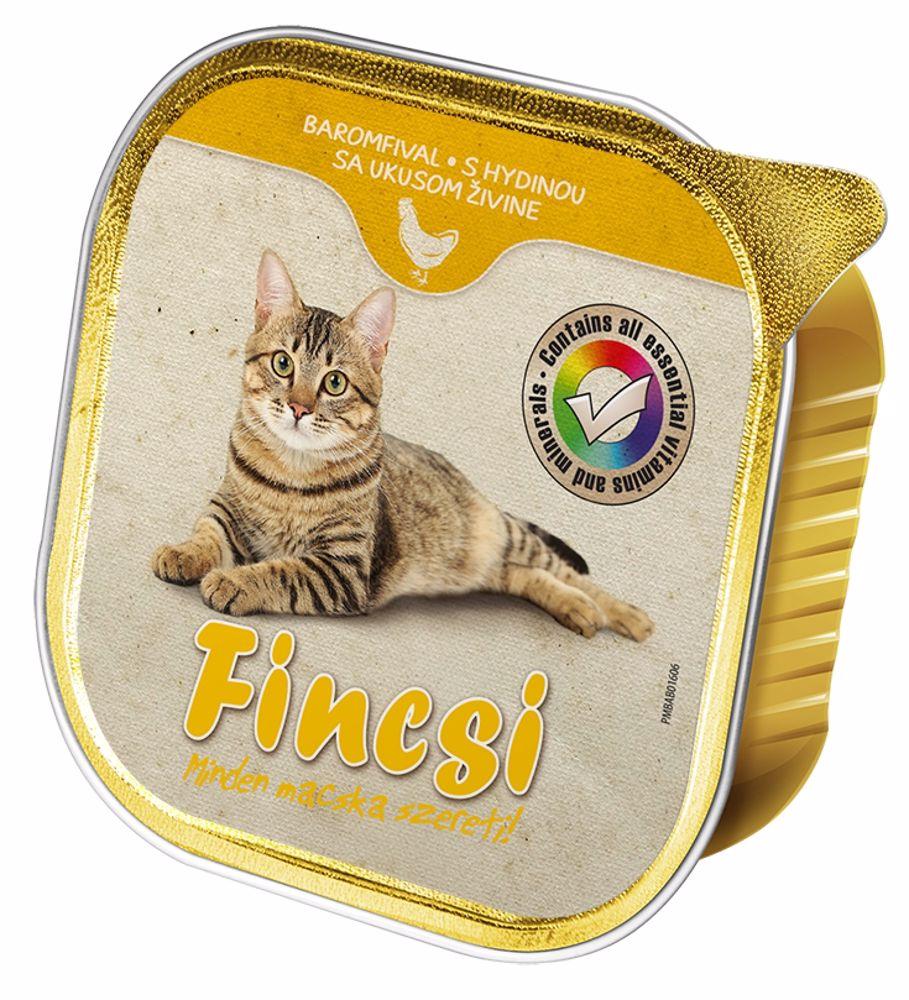 Fincsi Cat drůbeží vanička 100 g