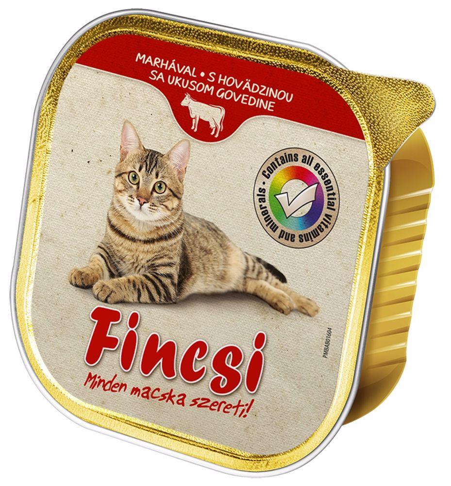Fincsi Cat hovězí vanička 100 g