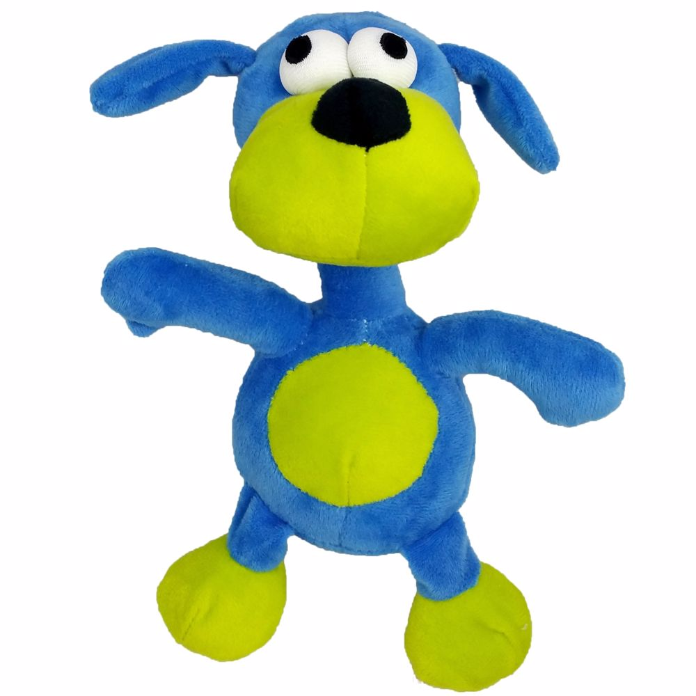Hračka pro psy - plyš PES pískací 20 cm-140156