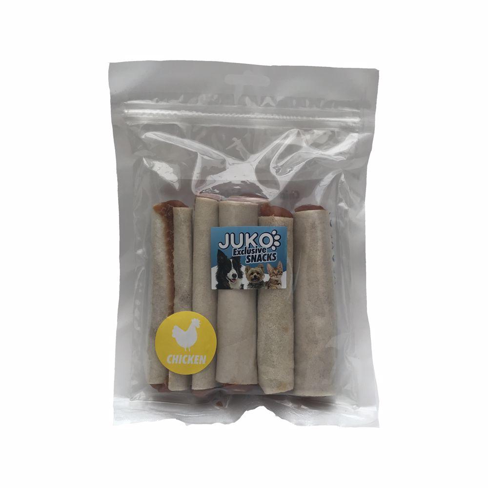 Snack Chicken Rawhide Roll 250g-15442