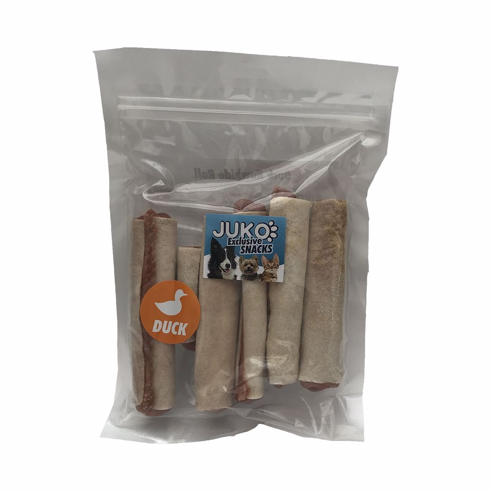 Snack Duck Rawhide Roll 250g-15443