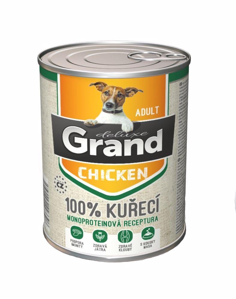 Grand Deluxe 100% Kuřecí Adult