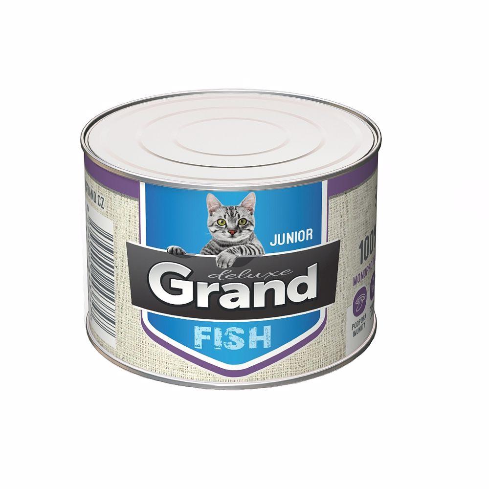 Grand Deluxe 100% Rybí Junior 180g