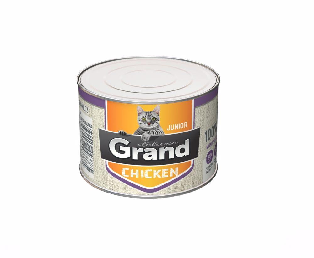 Grand Deluxe 100% Kuřecí Junior 180g
