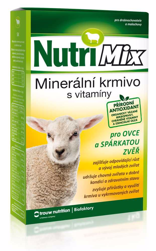 Nutri Mix OVCE a SPARKATÁ ZVĚŘ 3 kg