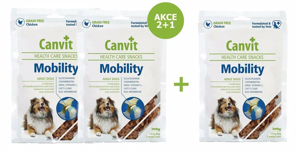 Canvit Snacks Mobility 200g-AKCE 2+1 Zdrama