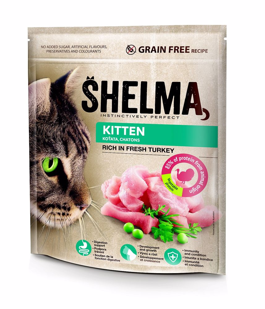 Shelma cat Freshmeat kitten turkey grain free 750g-15555