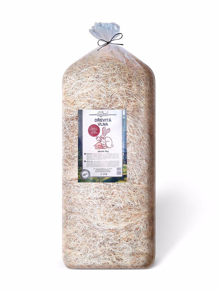 DŘEVITÁ VLNA  Limara 3kg-15586