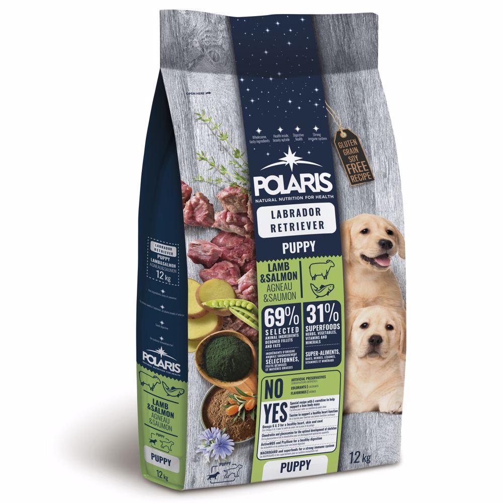 Polaris GF pes Puppy Labrador jehně, losos 12kg -15653-Z