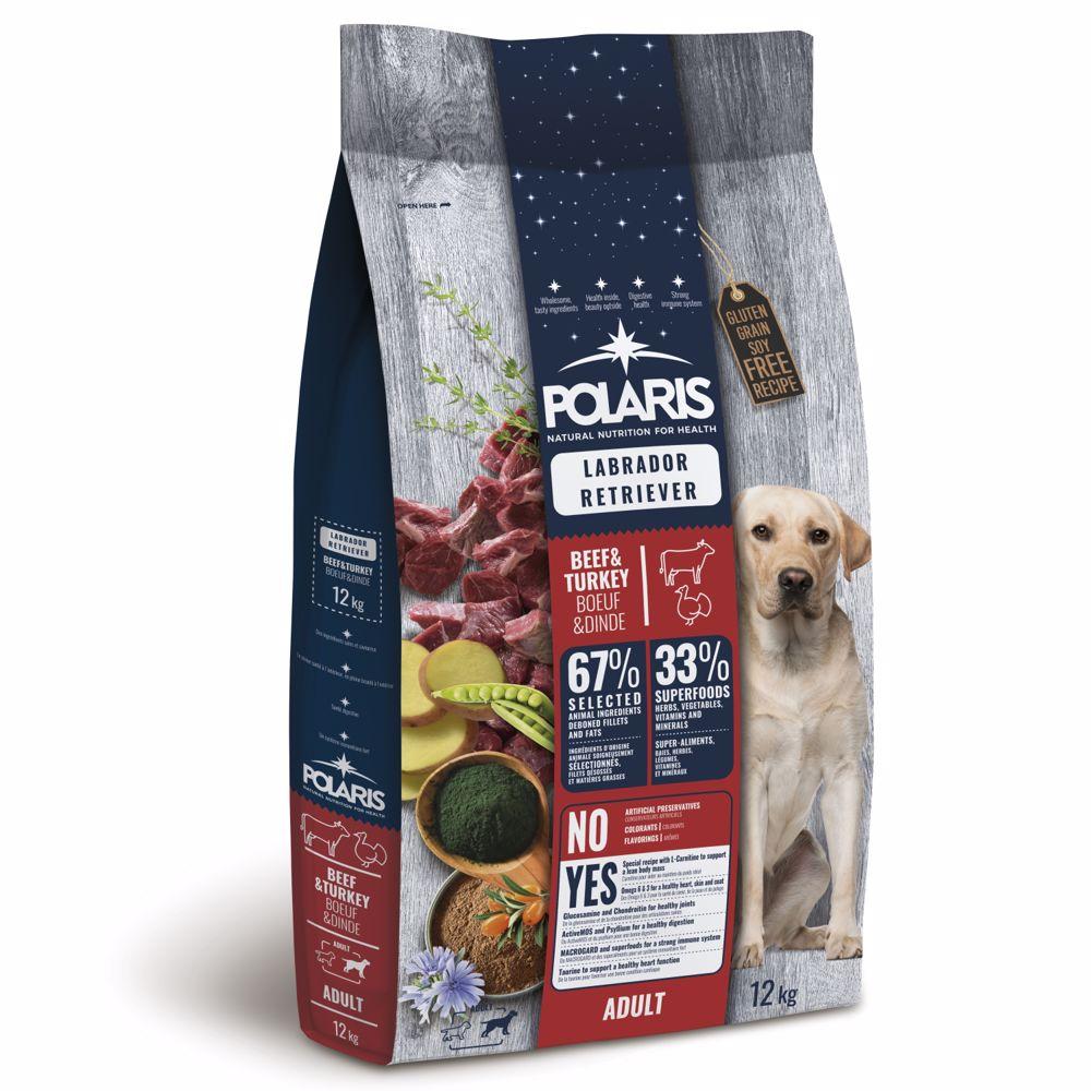 Polaris GF pes Adult Labrador hovězí, krůta 12kg -15655-Z