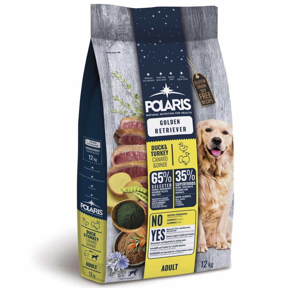 Polaris GF pes Adult Gol.Retr kachna, krůta 12kg -15659-Z
