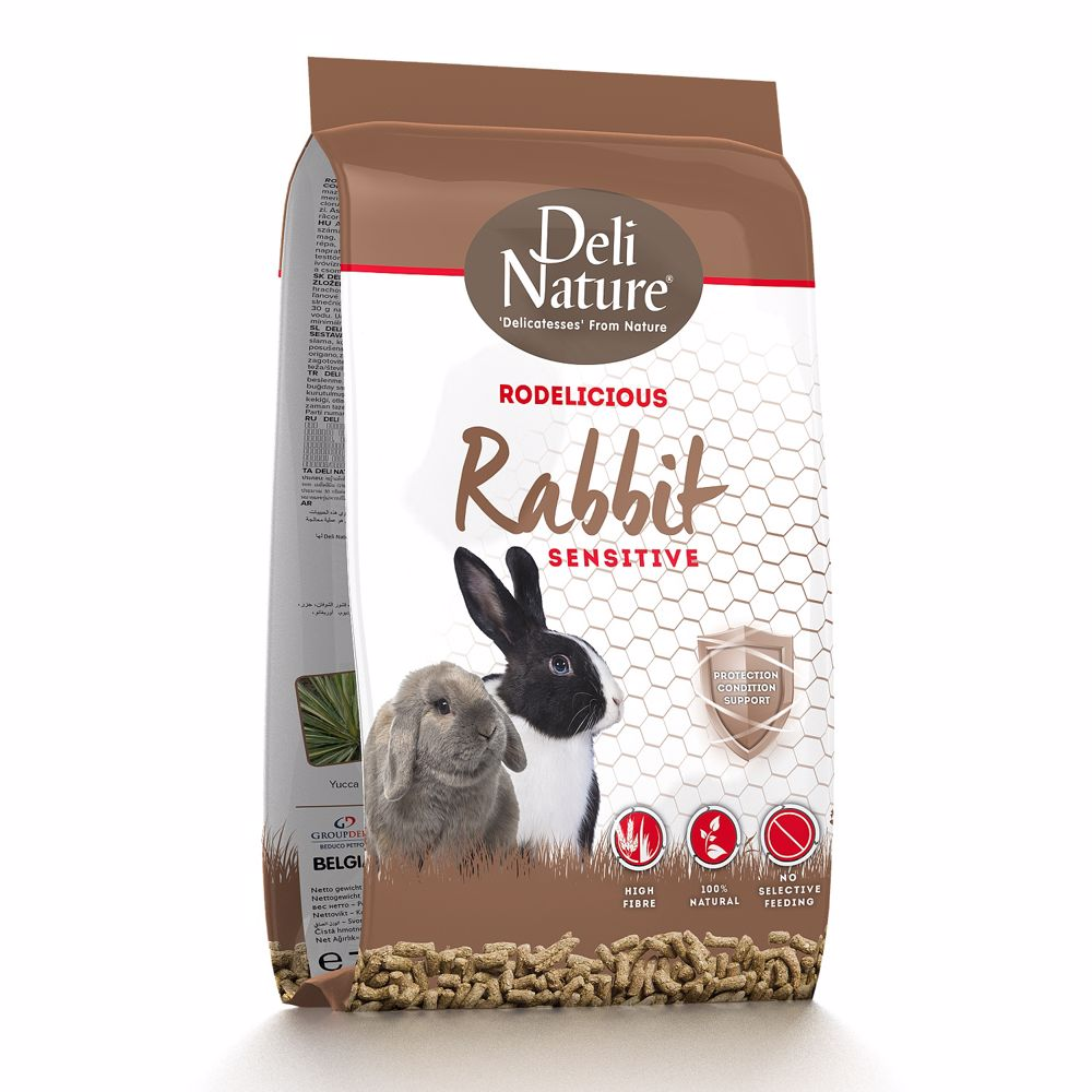 Deli Nature Rodelicious RABBITS SENSITIVE 2kg - Králík-15667