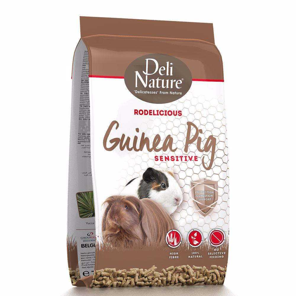 Deli Nature Rodelicious GUINEA-PIGS SENSITIVE 2kg - Morče-15669