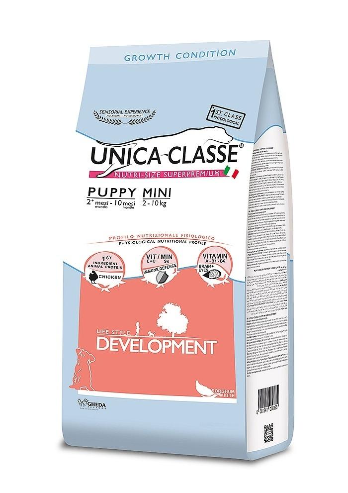 UNICA CLASSE Development Puppy Mini Chicken 7,5 kg