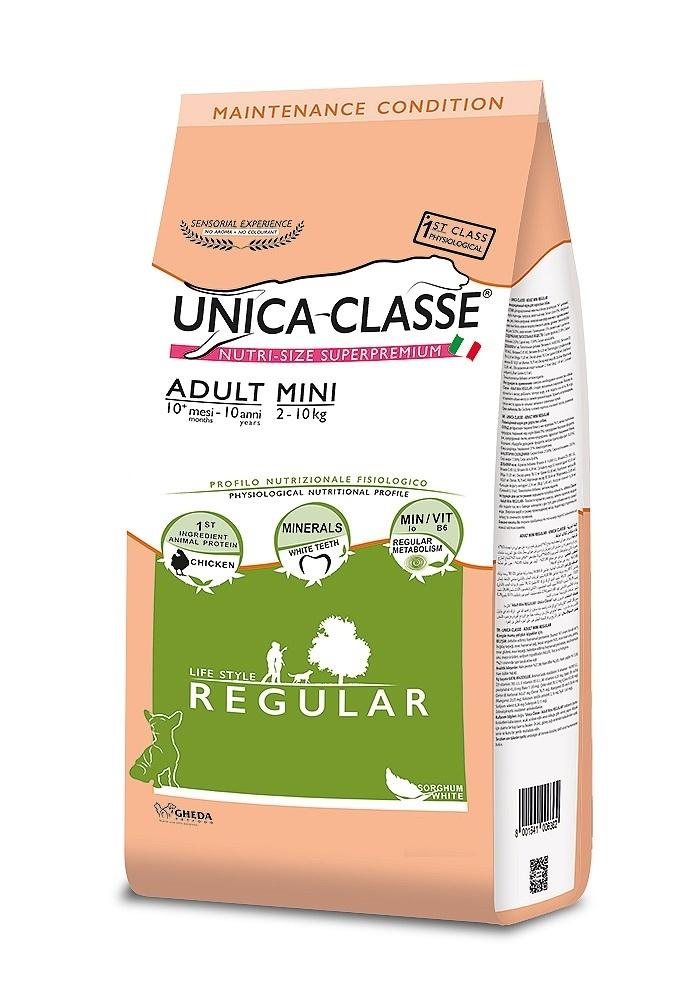 UNICA CLASSE Regular Adult Mini Chicken 7,5 kg