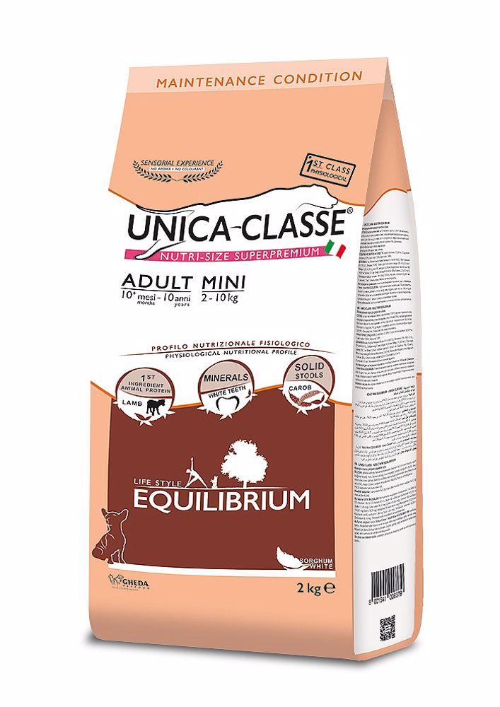 UNICA CLASSE Equilibrium Adult Mini Lamb 2 kg
