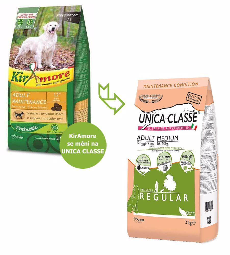 UNICA CLASSE Regular Adult Medium Chicken 3 kg