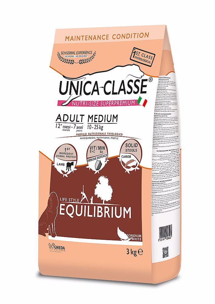UNICA CLASSE Equilibrium Adult Medium Lamb 3 kg