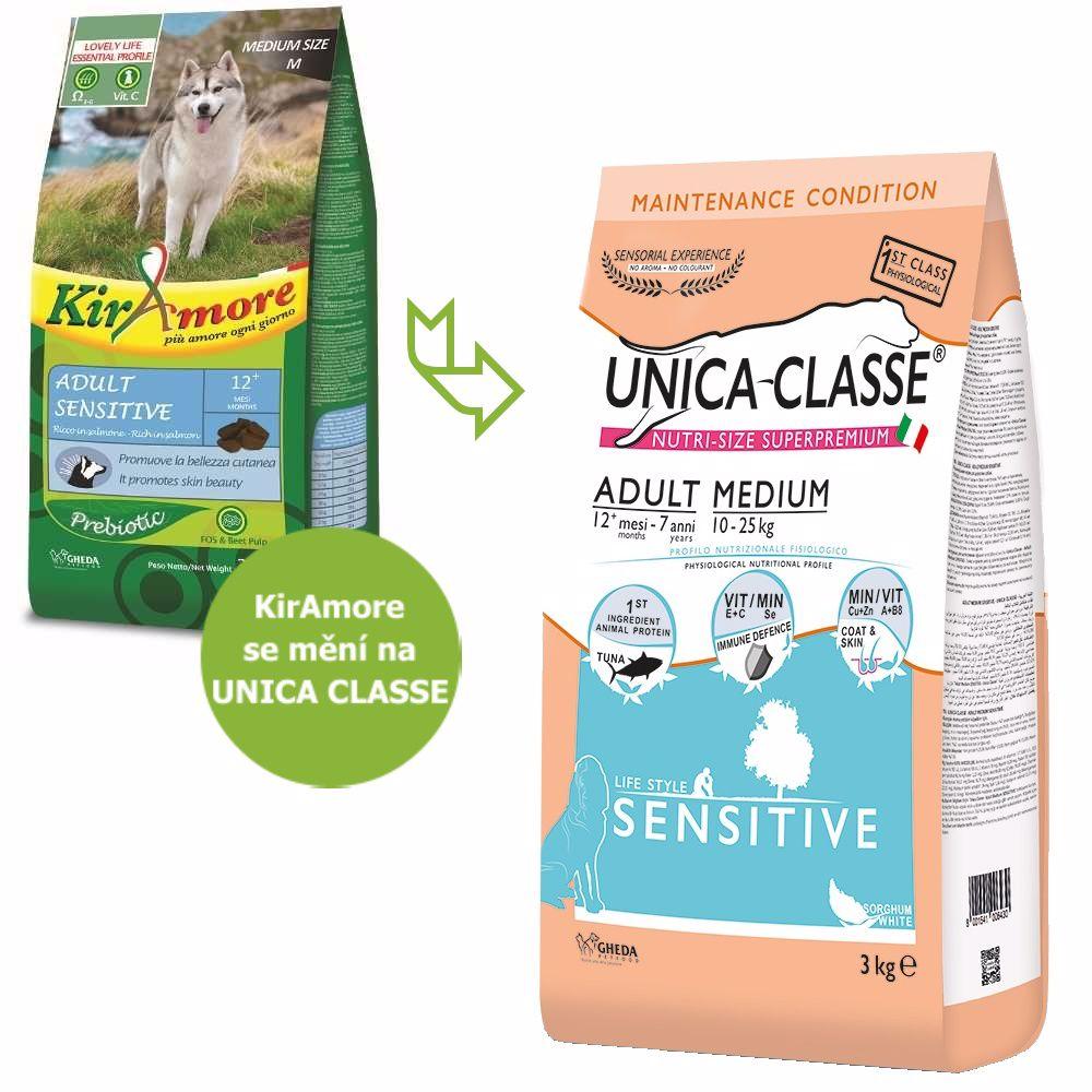 UNICA CLASSE Sensitive Adult Medium Tuna 3 kg