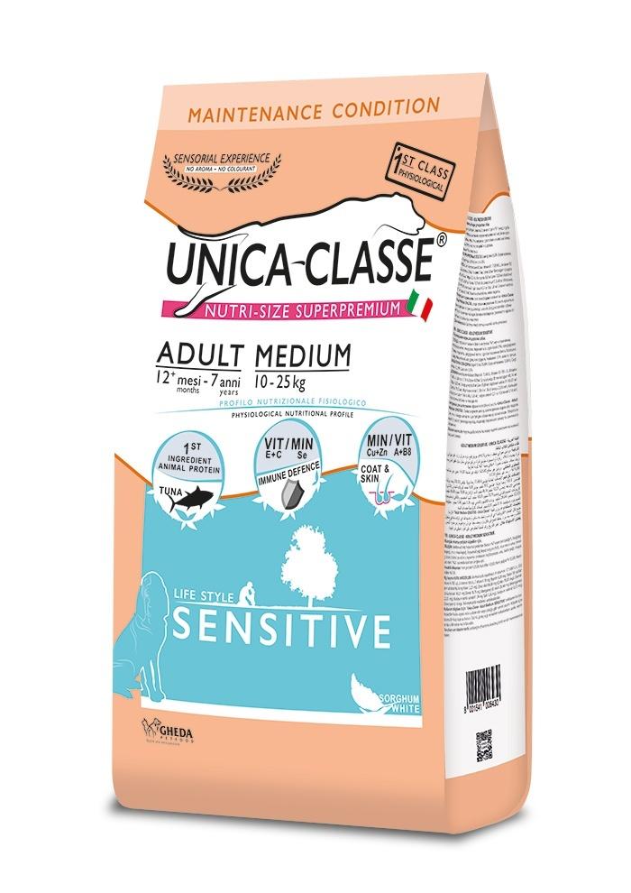 UNICA CLASSE Sensitive Adult Medium Tuna 12 kg