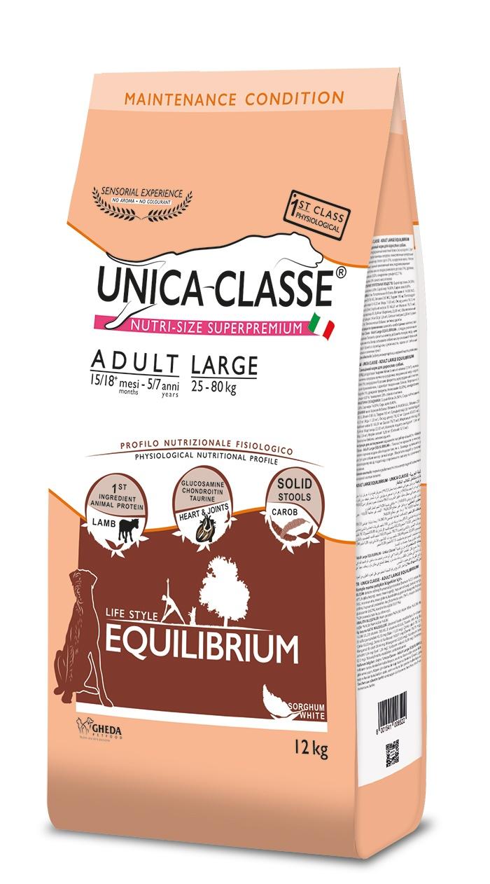 UNICA CLASSE Equilibrium Adult Large Lamb 12 kg