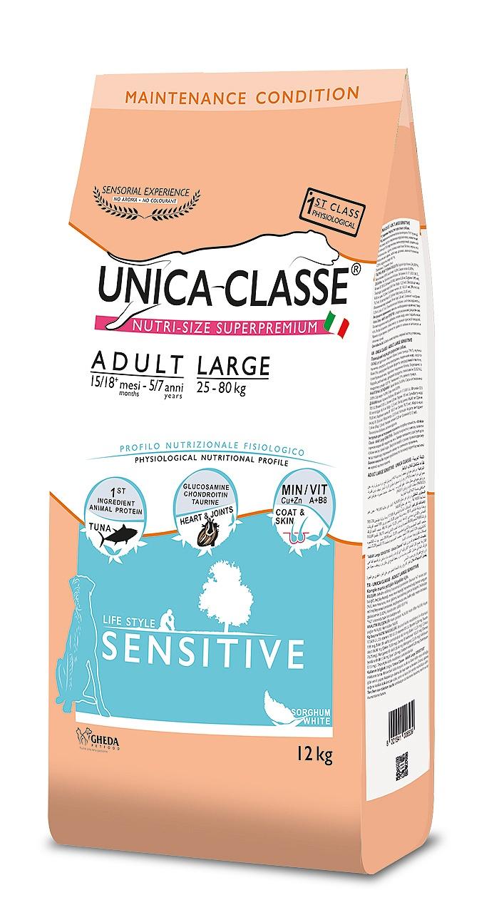 UNICA CLASSE Sensitive Adult Large Tuna 12 kg